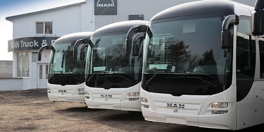 Автобусы MAN для угольных предприятий