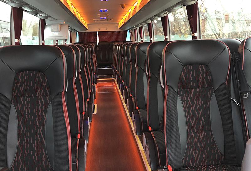 Модификации салона автобусов Ютонг под заказ